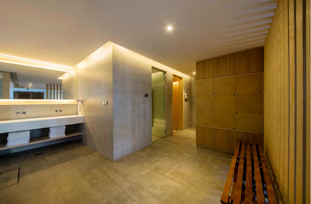 Bathroom by Eightytwo Pte Ltd, Modern