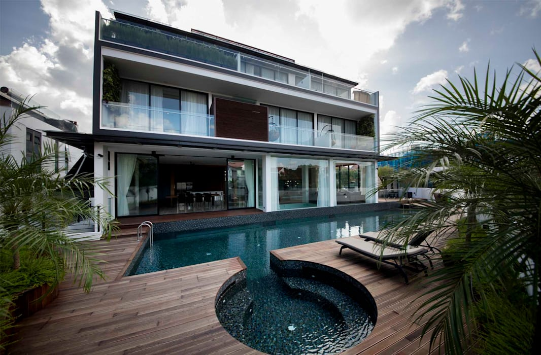 FRANKEL STREET Modern pool by Eightytwo Pte Ltd Modern