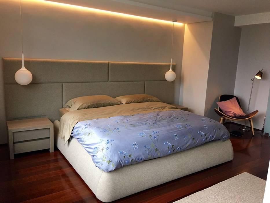 Proyecto Bello Monte: Cuartos de estilo  por THE muebles, Moderno
