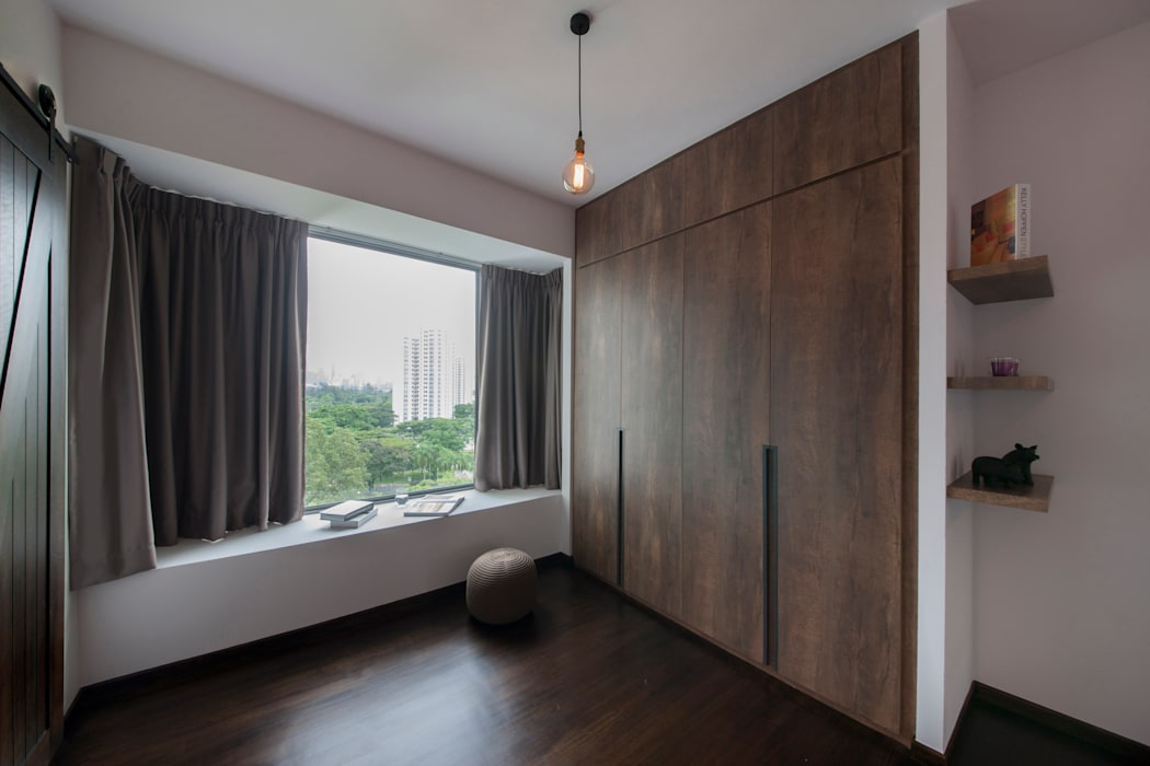 THE BELVEDERE:  Dressing room by Eightytwo Pte Ltd