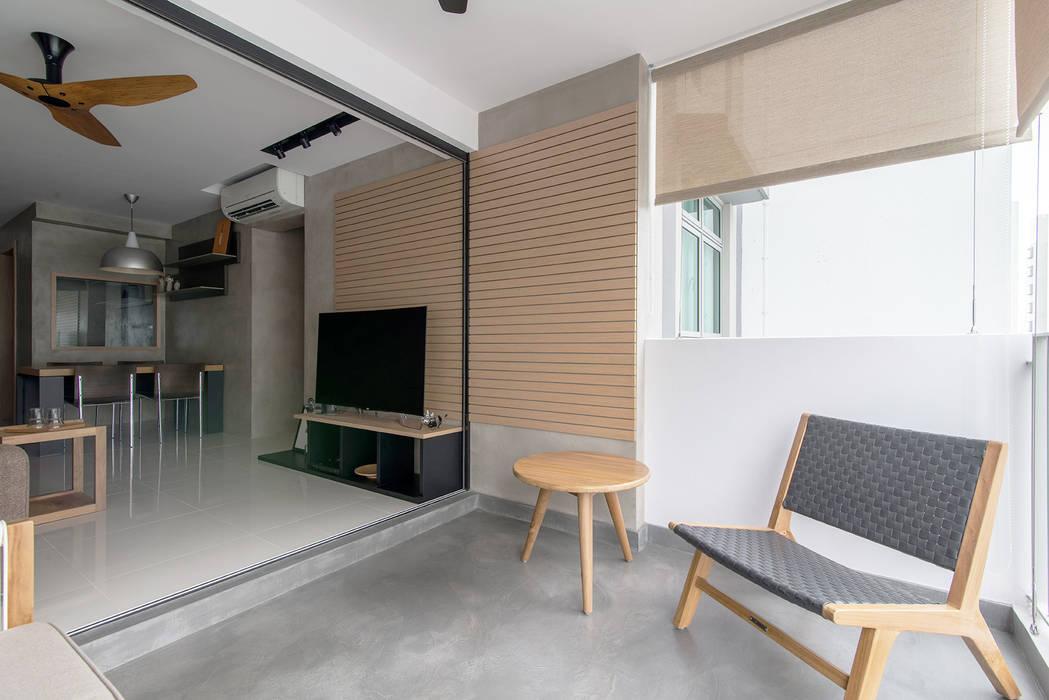 PARKLAND RESIDENCES:  Terrace by Eightytwo Pte Ltd,Scandinavian