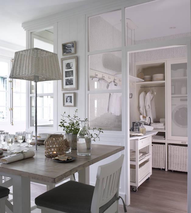 CASA DECOR MADRID 2016 DEULONDER arquitectura domestica Cocinas de estilo rústico Blanco