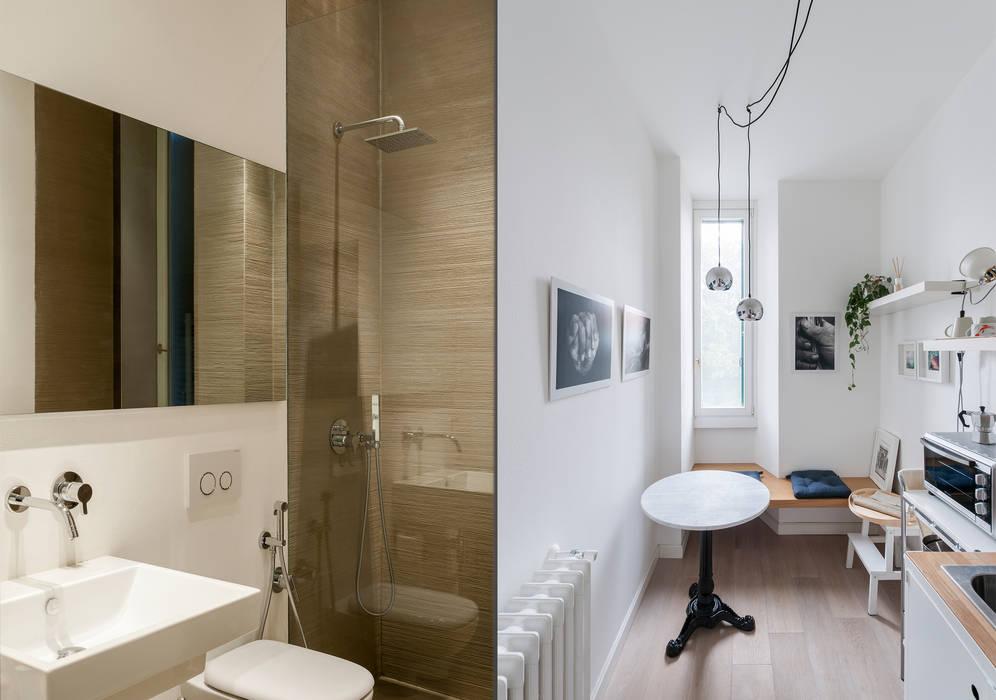 Baños de estilo ecléctico de Fabio Azzolina Architetto Ecléctico