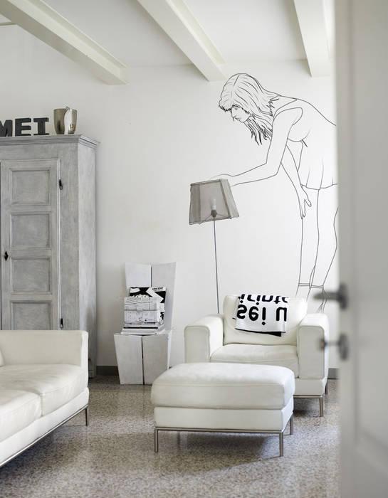 Salas / recibidores de estilo  por Pixers, Minimalista