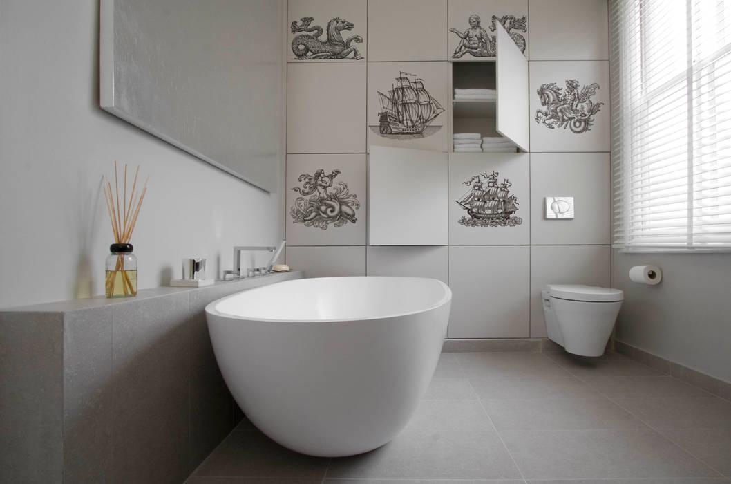 Casas de banho  por Pixers, Moderno
