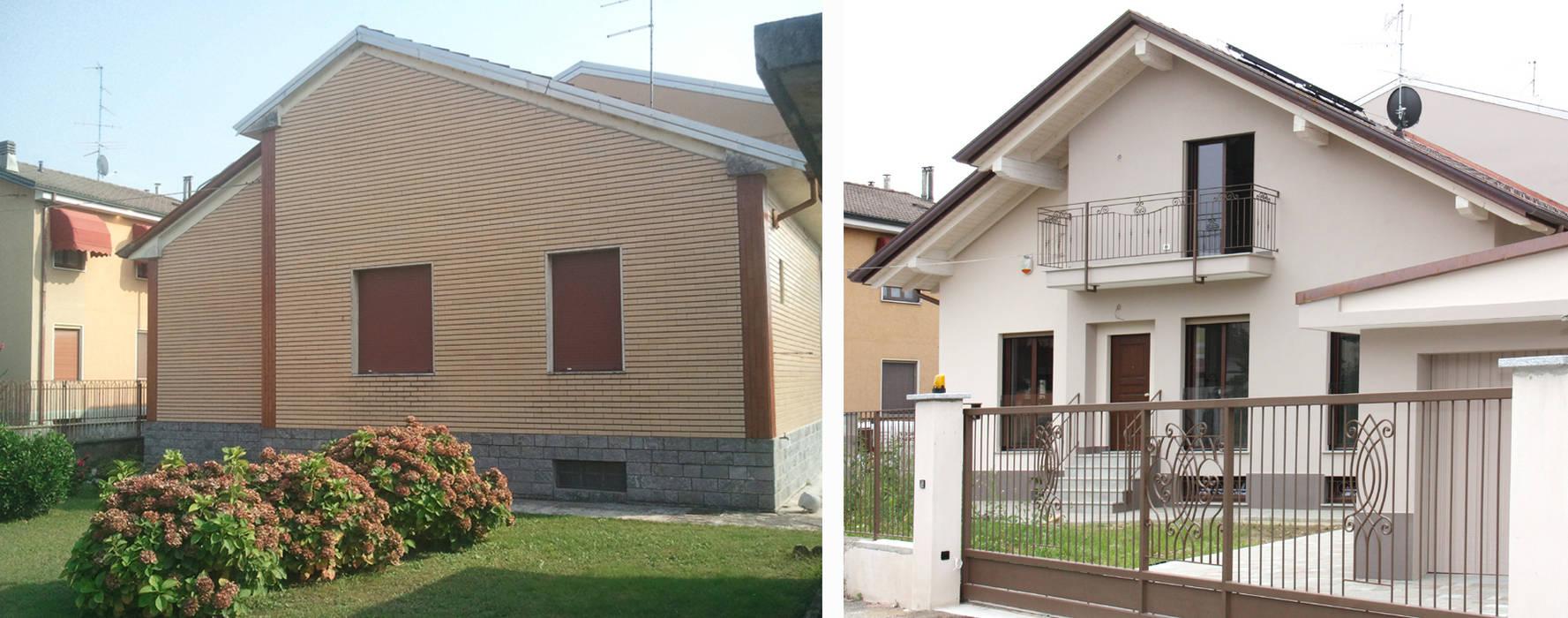 CONFRONTO: Case in stile in stile Moderno di Fabio Ricchezza architetto