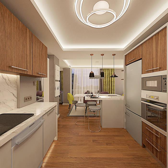 Kitchen by Ofis 352 Mimarlık Hizmetleri, Modern