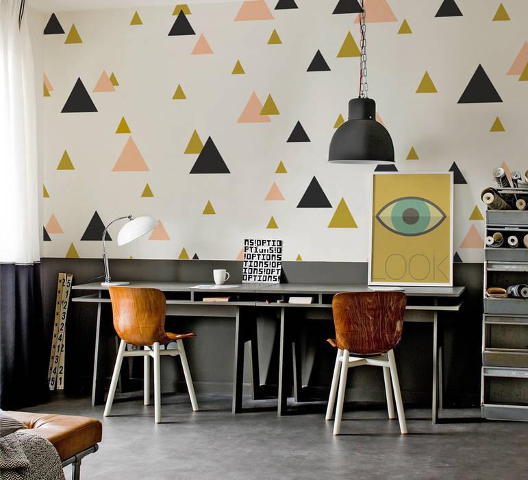 Oficinas de estilo  por Pixers, Ecléctico