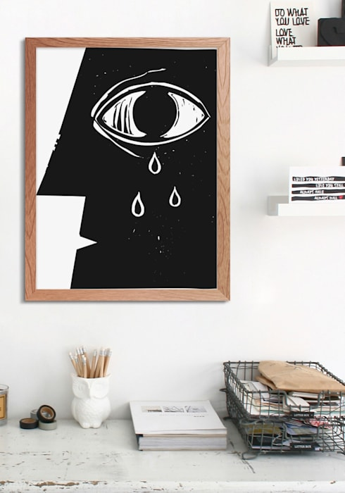 Eye Modern study/office by Pixers Modern
