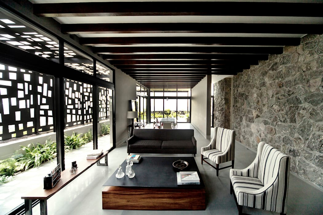 Living room by VMArquitectura, Modern Concrete