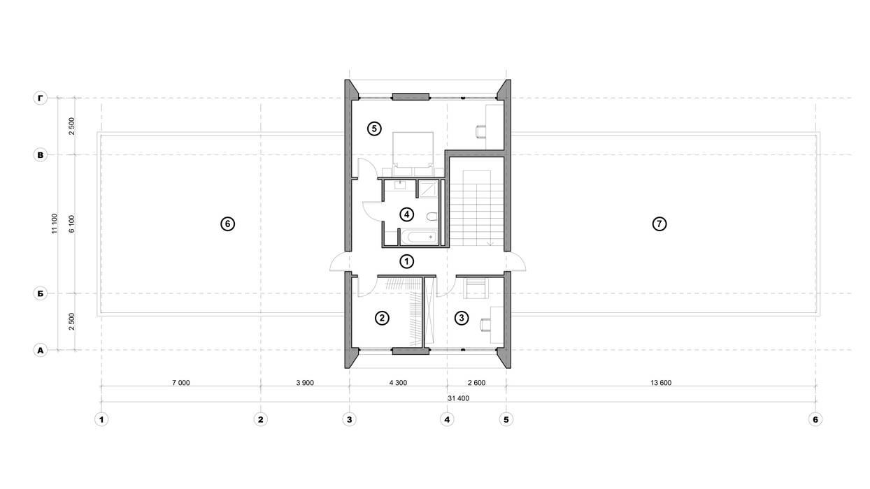 Минимализм 2: Дома в . Автор – Максим Любецкий, Минимализм Бетон