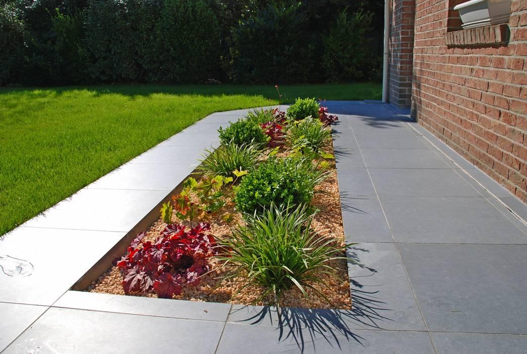 jardin après travaux Jardin classique par RVB PAYSAGE Classique