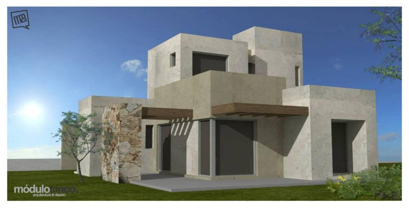 casa MM de modulo cinco arquitectura Moderno