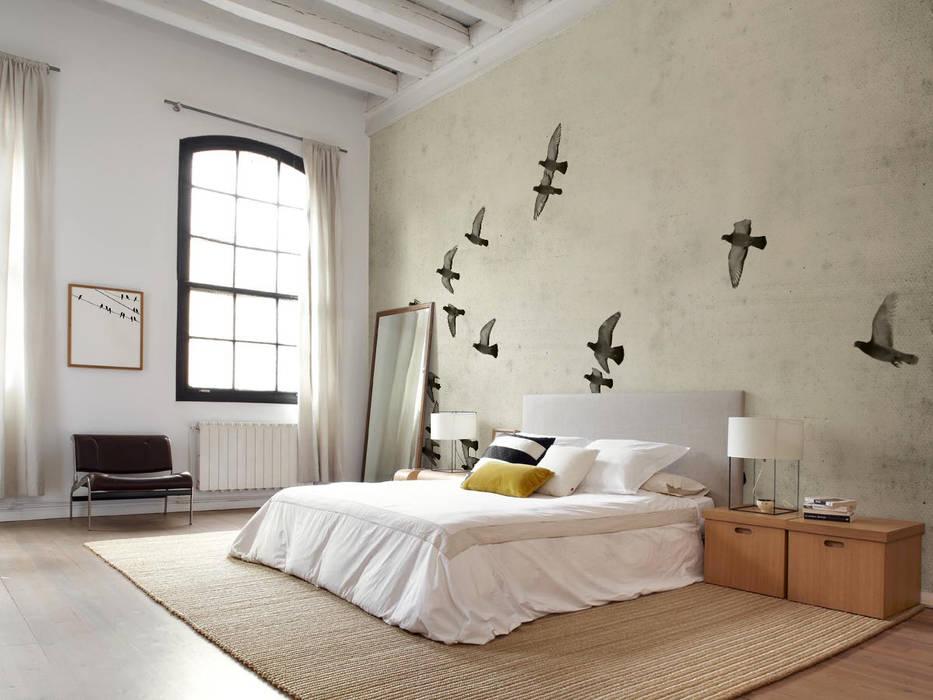 Birds Pixers Classic style bedroom Beige