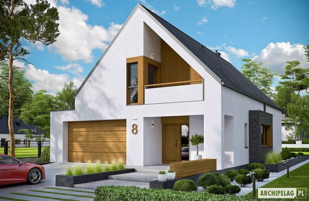 Rumah oleh Pracownia Projektowa ARCHIPELAG