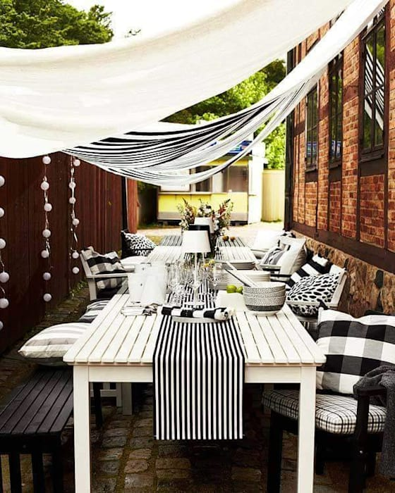 Balcon, Veranda & Terrasse scandinaves par Design for Love Scandinave