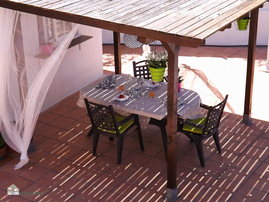 Terrasse de style  par custom casa home staging