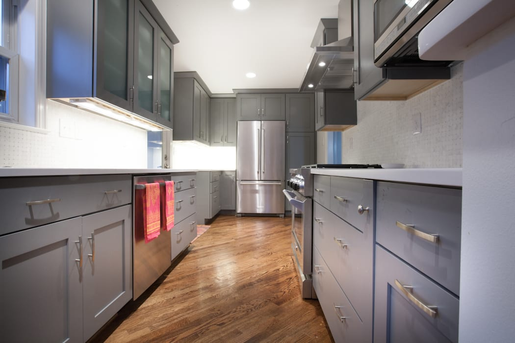 RedBird ReDesign Dapur Modern Grey