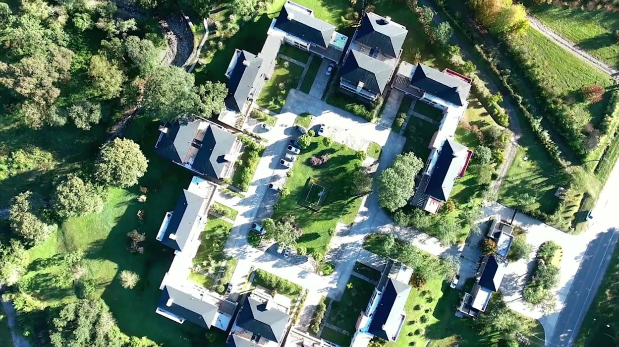 Vista Aerea de Terrazas de San Lorenzo Casas clásicas de Proyecto Norte Clásico