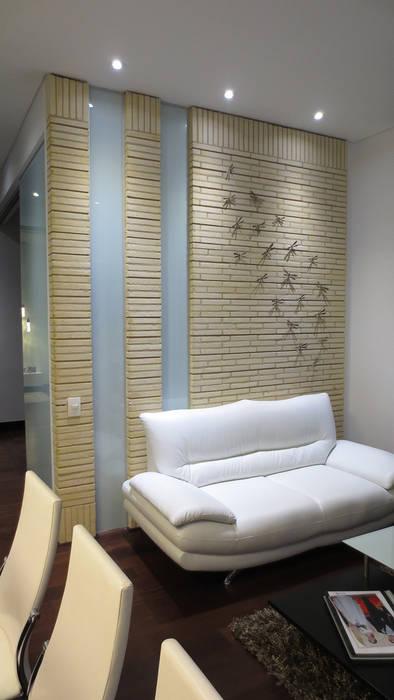 REMODELACIÓN LOFT - SALA: Salas de estilo  por ARTEKTURE S.A.S, Minimalista
