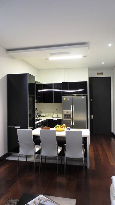 REMODELACIÓN LOFT - COCINA ARTEKTURE S.A.S Cocinas de estilo minimalista