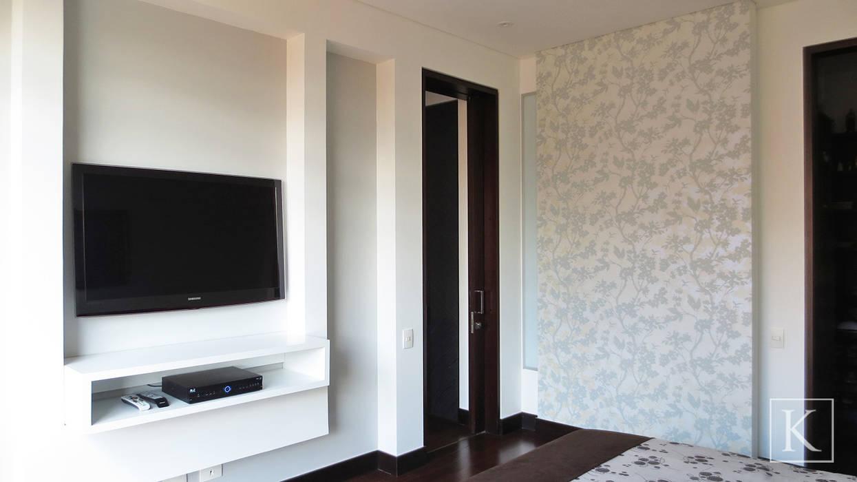REMODELACIÓN LOFT - HABITACIÓN PRINCIPAL Habitaciones de estilo minimalista de ARTEKTURE S.A.S Minimalista