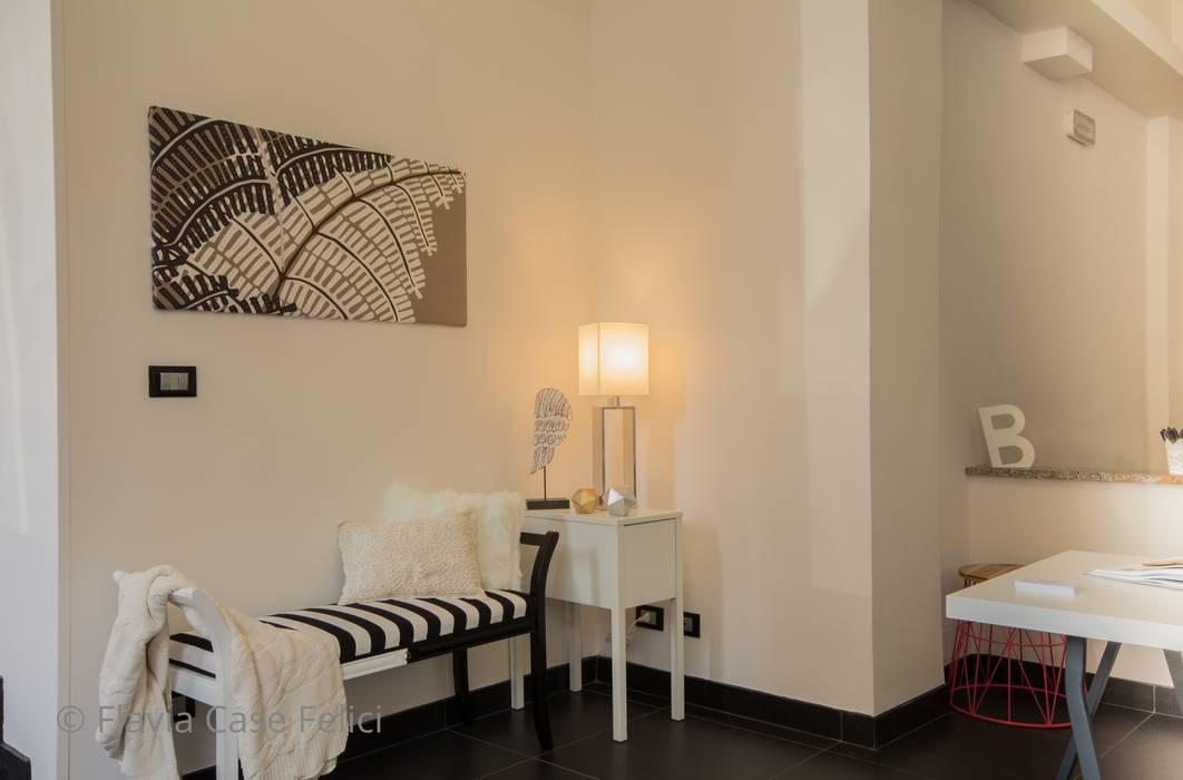 ห้องโถงทางเดินและบันไดสมัยใหม่ โดย Flavia Case Felici โมเดิร์น