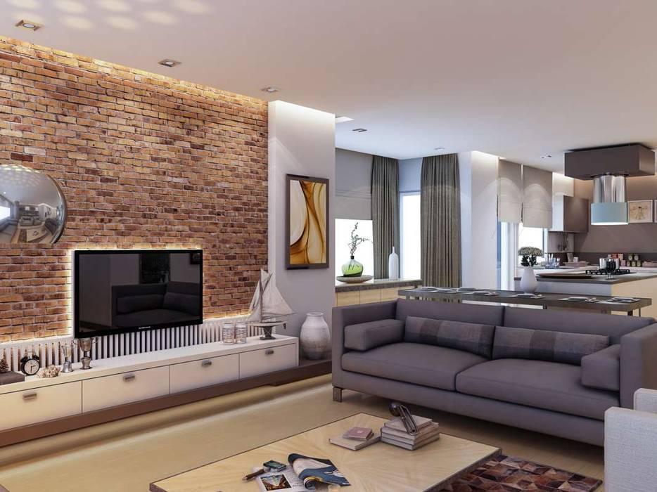 Salas de estilo moderno de VERO CONCEPT MİMARLIK Moderno