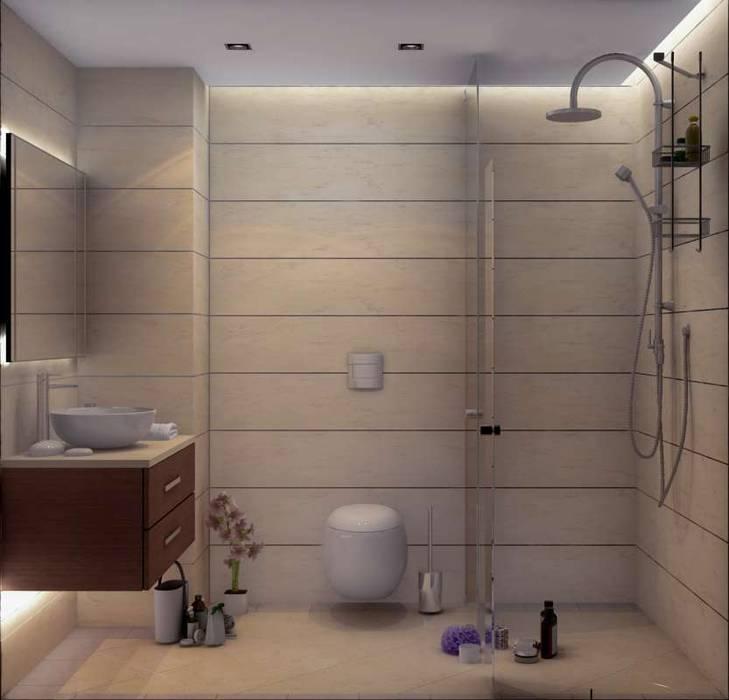 Yunus Emre - Alsancak Konut Modern Banyo VERO CONCEPT MİMARLIK Modern