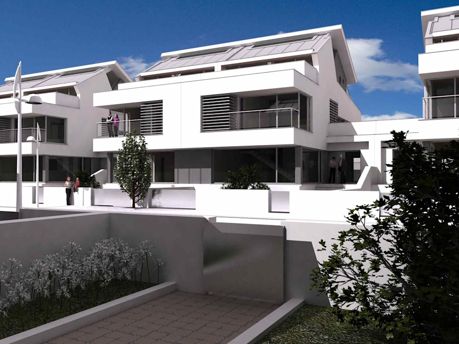 Moderne Häuser von José Vitória Arquitectura Modern