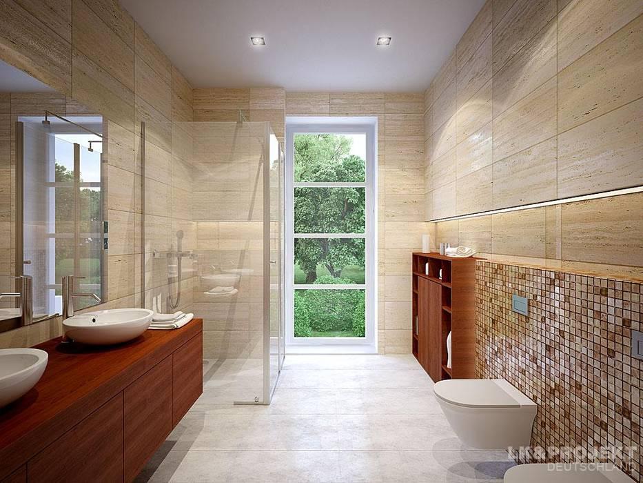 Baños de estilo moderno de LK&Projekt GmbH Moderno