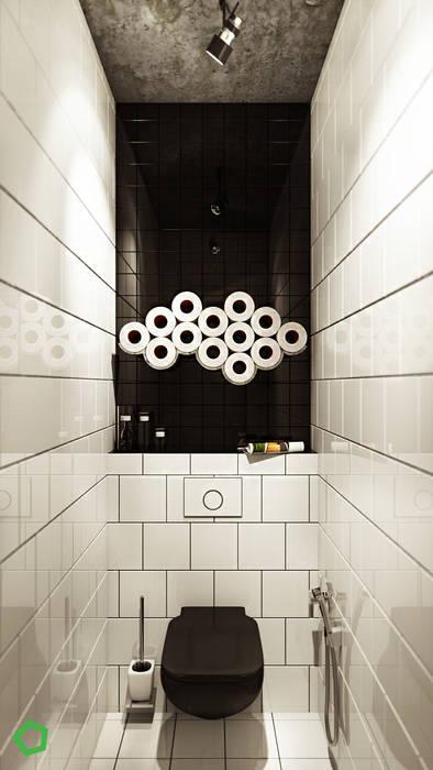 Baños de estilo  de Polygon arch&des, Minimalista