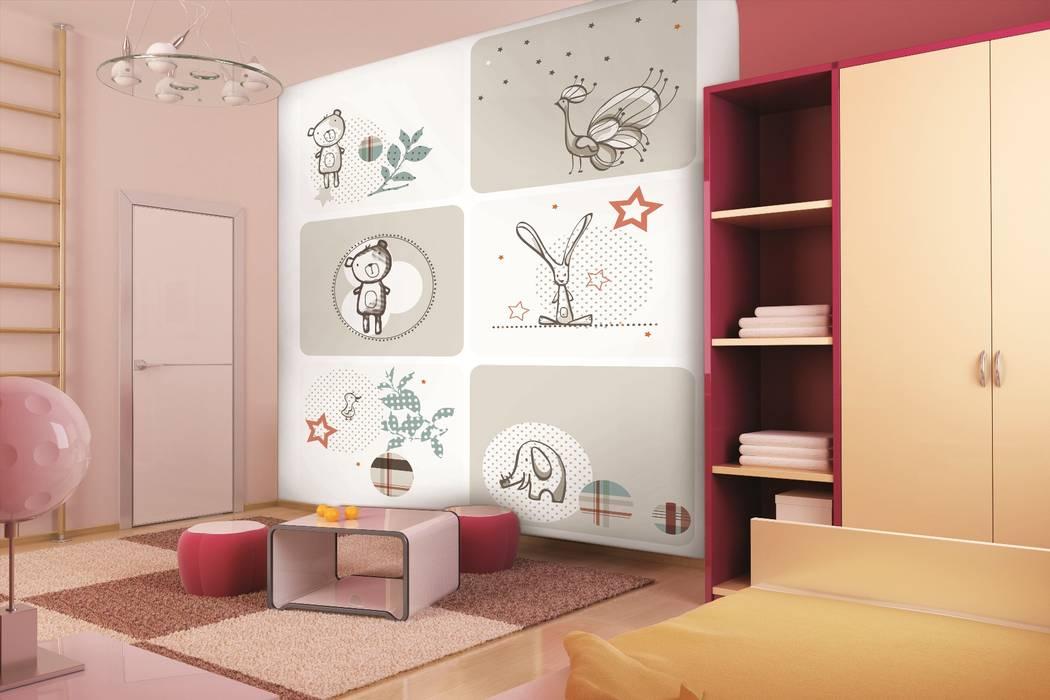 Murales Cameretta Bambini : Patch work murale per la cameretta dei bambini stanza dei bambini