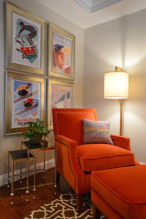 Sitting corner by Mel McDaniel Design Classic