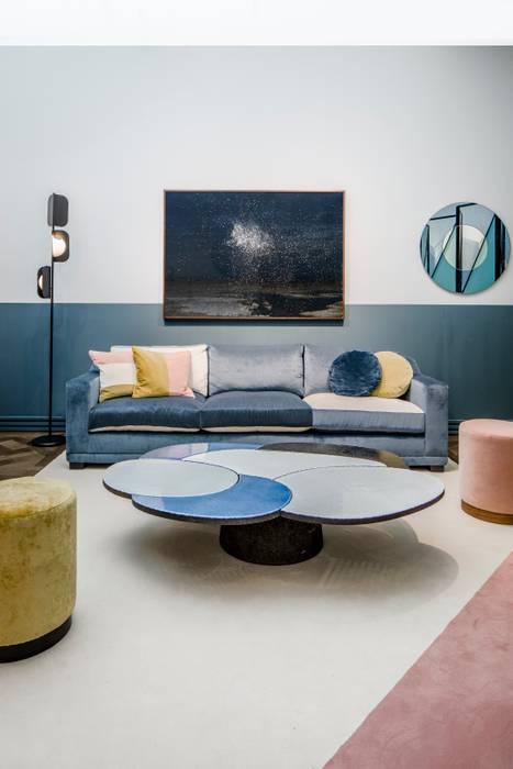 Living room by M.M. Lampadari
