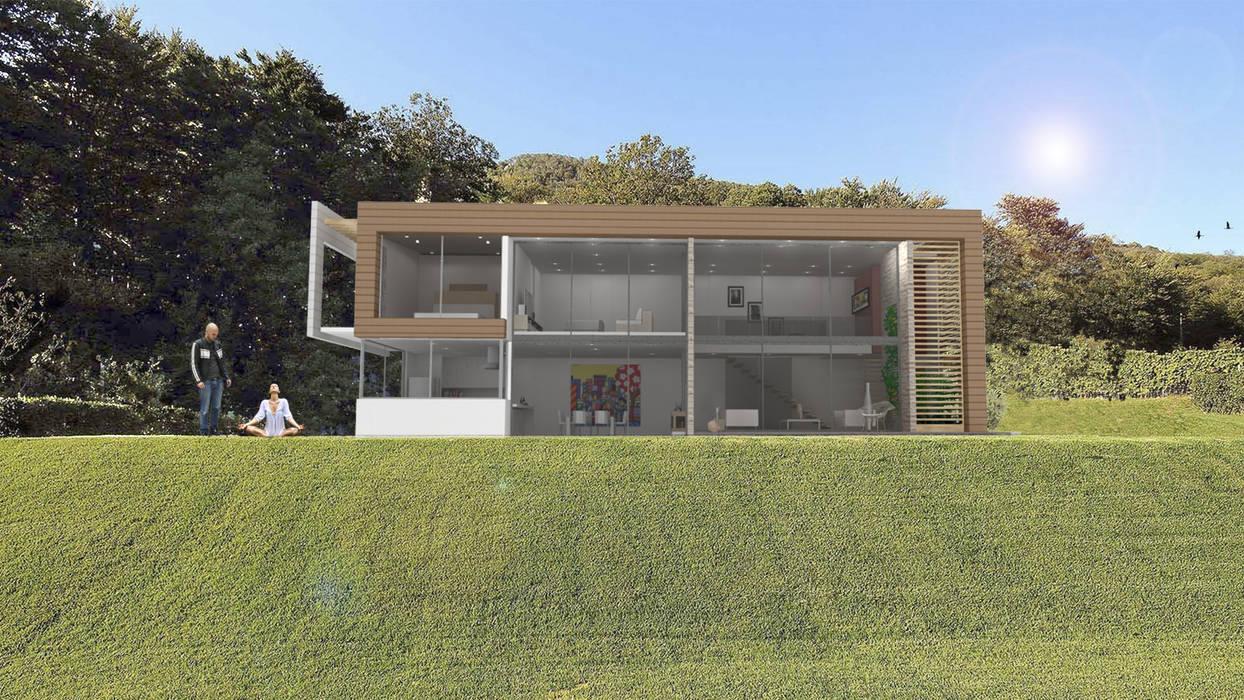 Casa Dapa LM Casas modernas de COLECTIVO CREATIVO Moderno