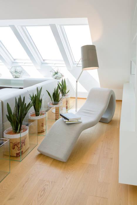 Leseecke: wohnzimmer von kathameno interior design e.u. ...