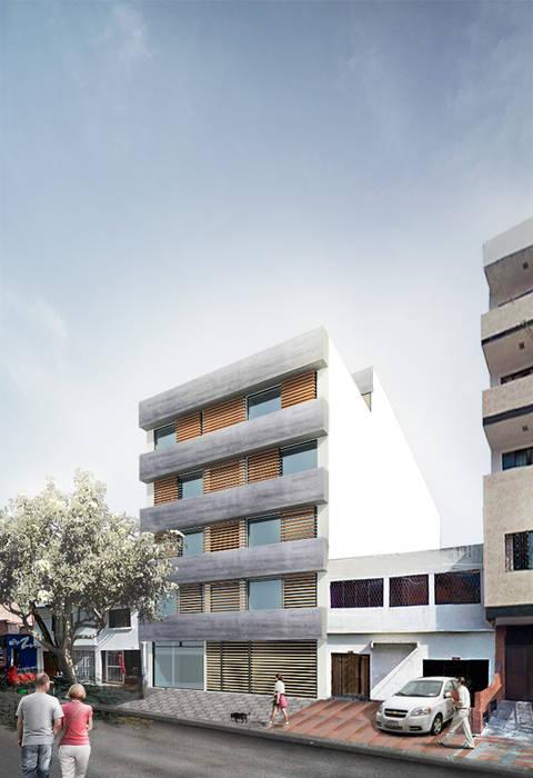 Edifico Versalles Balcones y terrazas de estilo moderno de COLECTIVO CREATIVO Moderno