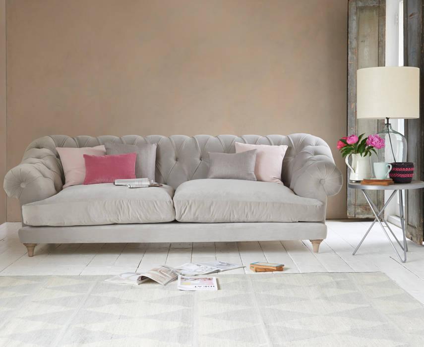 Bagsie sofa de Loaf Moderno Textil Ámbar/Dorado