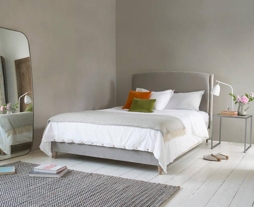 Dazzler bed Loaf BedroomBeds & headboards Textile Grey
