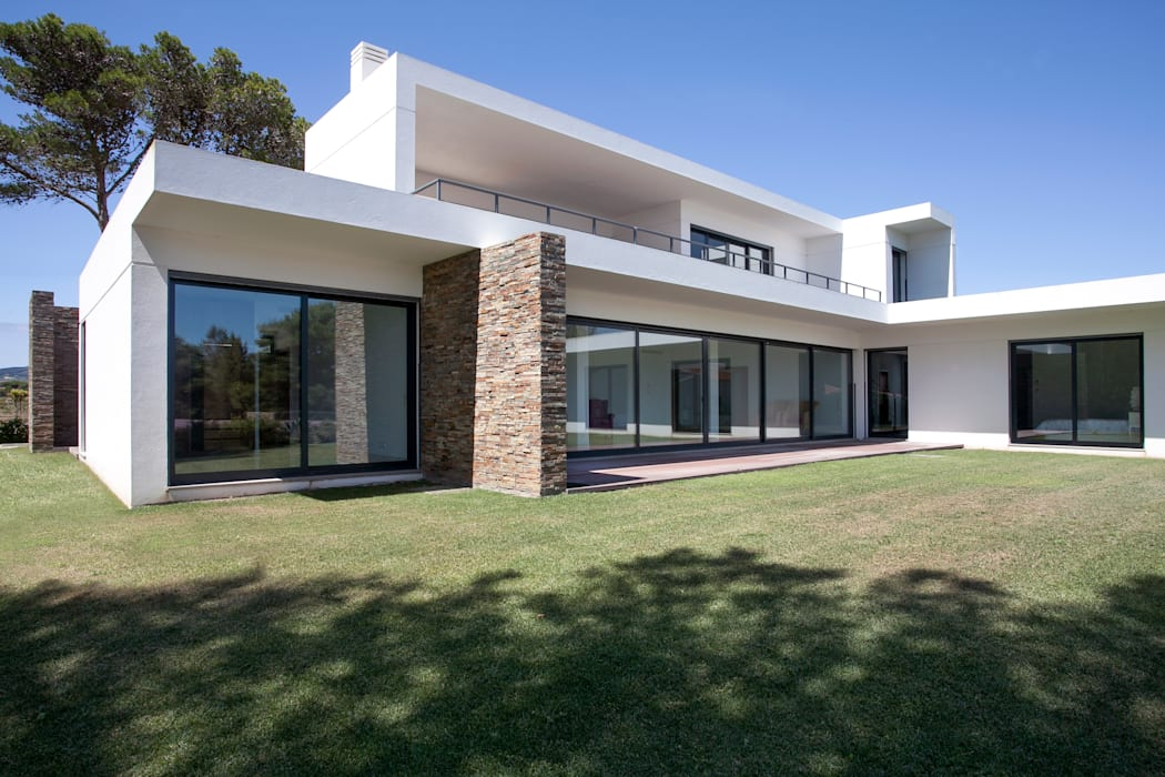 Casas modernas de fernando piçarra fotografia Moderno