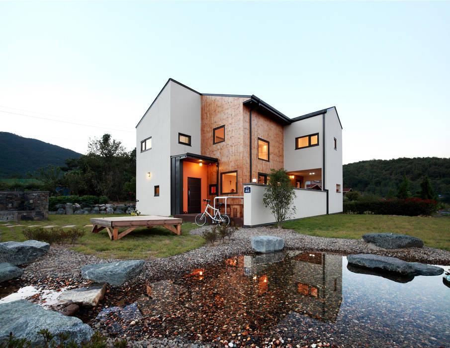 Maisons de style  par 주택설계전문 디자인그룹 홈스타일토토,