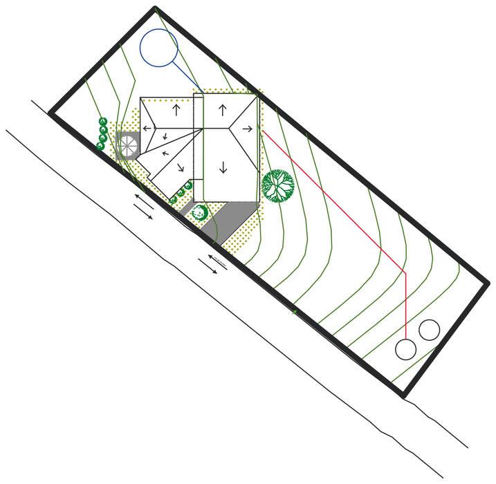 Conjunto: Casas de estilo  por Loft estudio C.A., Rural