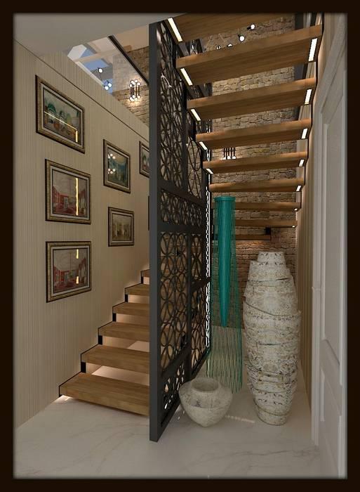 Corridor & hallway by ESA PARK İÇ MİMARLIK, Modern