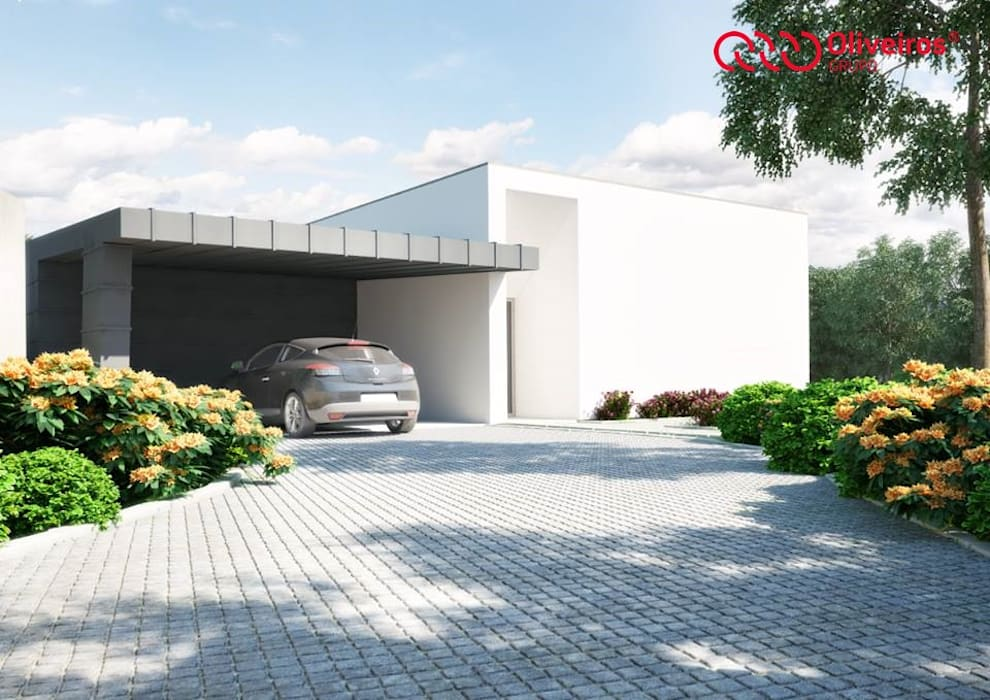 Casas modernas de Oliveiros Grupo Moderno