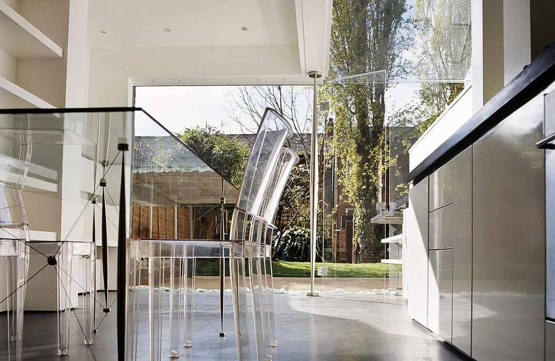 House 002 Andrew Wallace Architects Minimalist kitchen