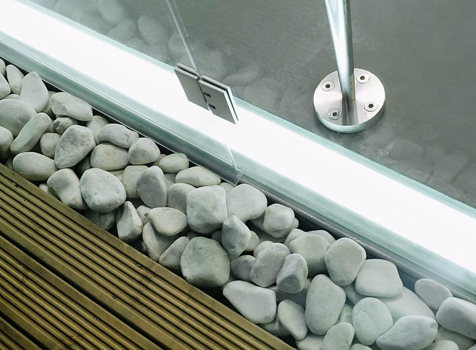 House 002 Andrew Wallace Architects Minimalist walls & floors