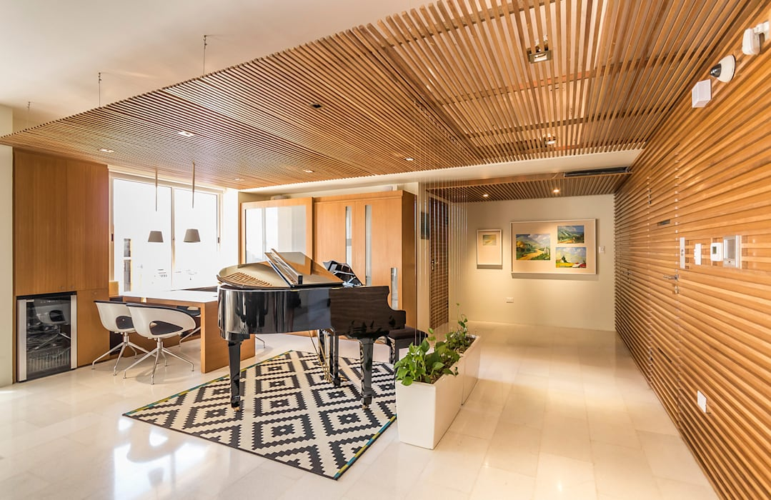 Modern Corridor, Hallway and Staircase by NMD NOMADAS Modern