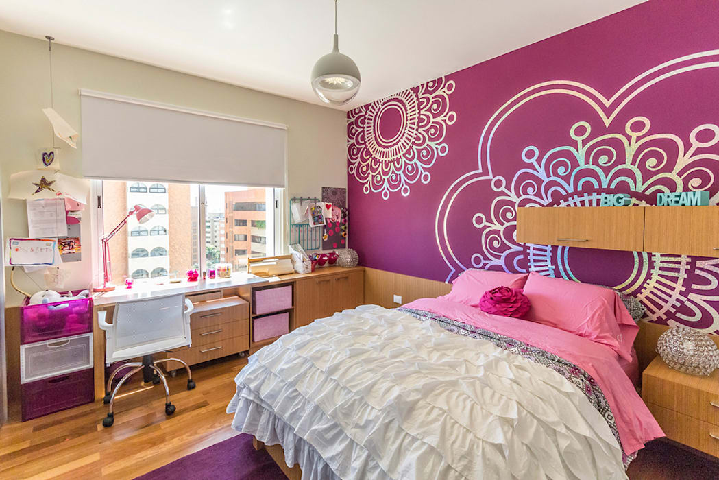Apartamento 10A Grand Europa - NMD NOMADAS: Cuartos infantiles de estilo  por NMD NOMADAS, Moderno