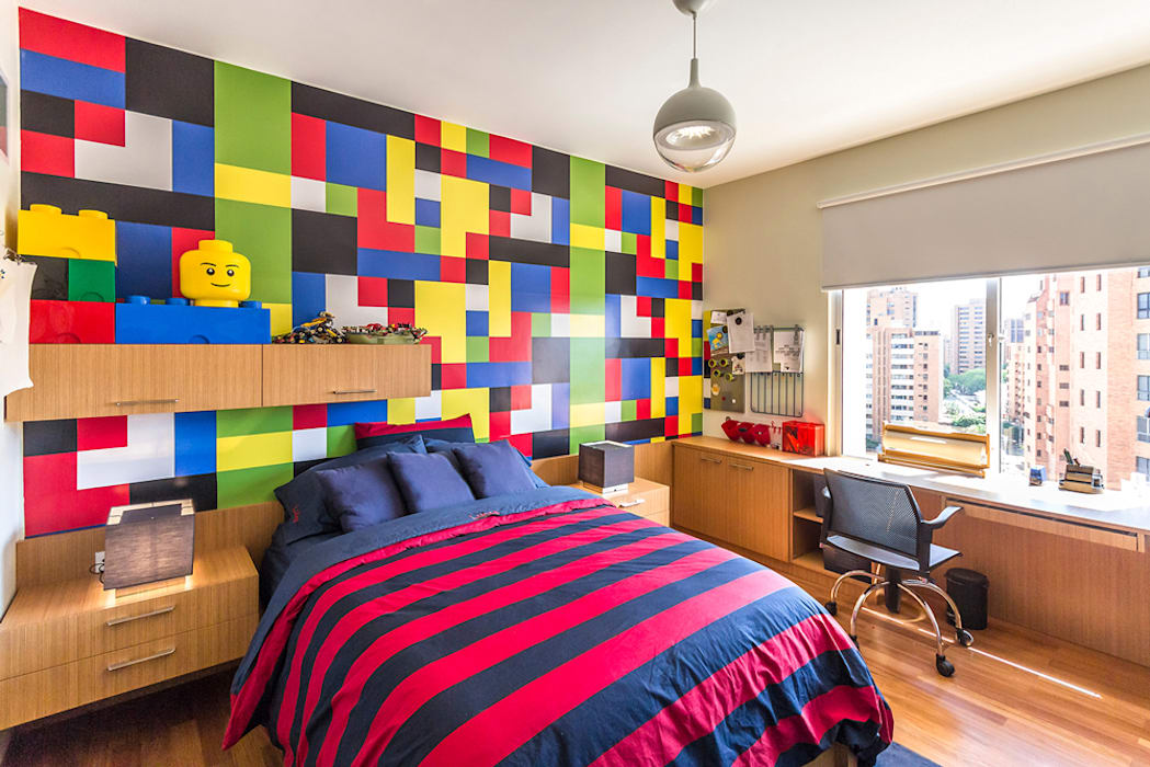 Apartamento 10A Grand Europa - NMD NOMADAS Cuartos infantiles de estilo moderno de NMD NOMADAS Moderno